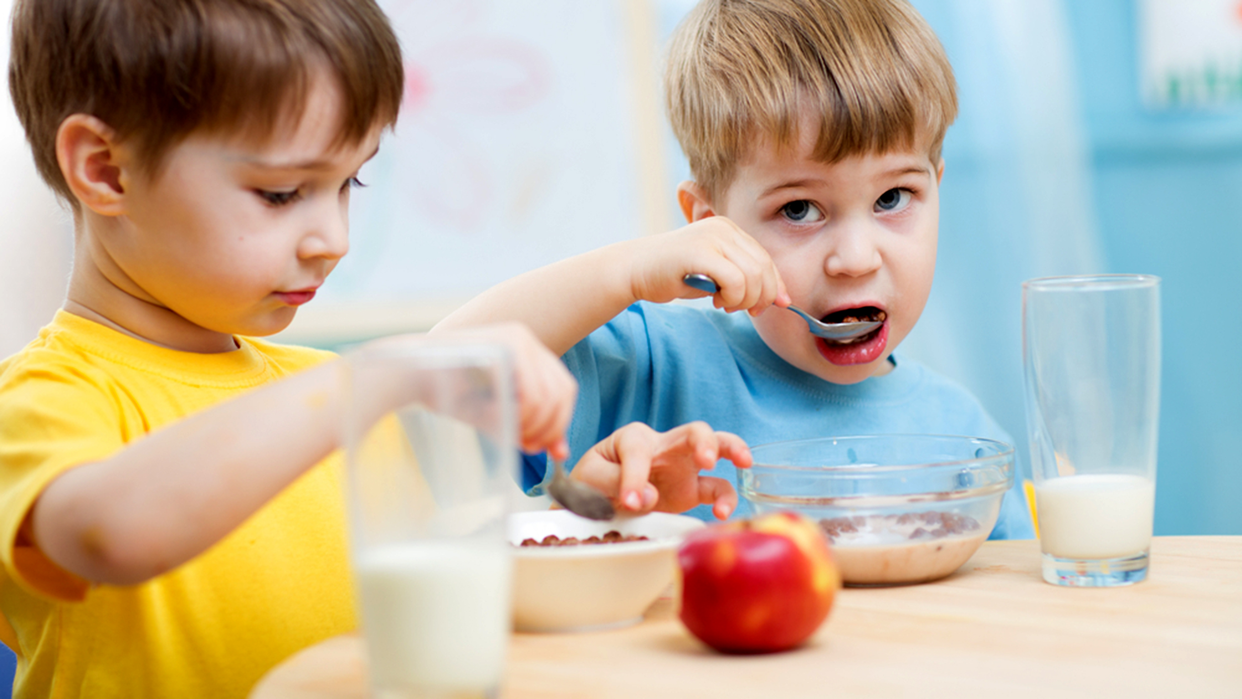 Πρωινό για παιδιά